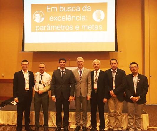 Dr. Paulo Renato foi Coordenador da sala excelência clínica no Ortopremium 2016