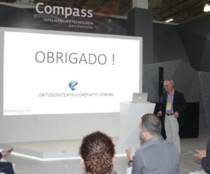 Dr. Paulo Renato ministrou palestra sobre ALINHADORES INVISÍVEIS no ORTO SPO 2016