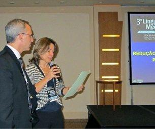Palestra no 3º LINGUAL MEETING (congresso de ortodontia Lingual) em São Paulo