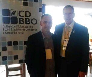 Participação como Presidente Eleito do CDBBO  no congresso da Associação Brasileira de Ortodontia  (ABOR) em Florianópolis